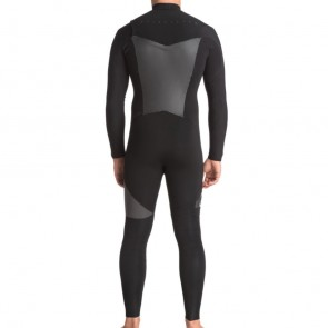 USED Quiksilver Syncro 4/3 Chest Zip Wetsuit - Size XL