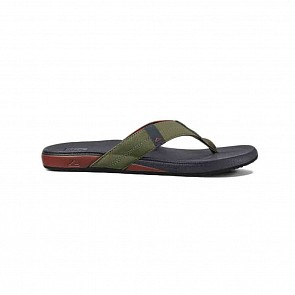 Reef Cushion Bounce Phantom Sandals - Olive/Red