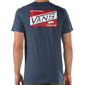 Vans Coffman T-Shirt - Heather Navy