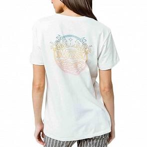 Vans Women's Side Port T-Shirt - Marshmallow