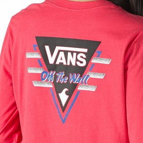 Vans Women's Suma Time Long Sleeve Crop Top - Tea Berry