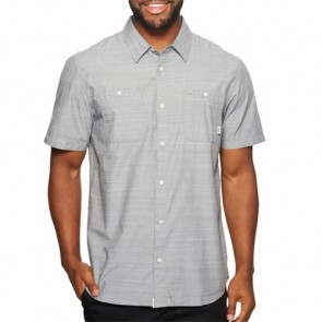 Vans Guilder Short Sleeve Shirt - Gravel