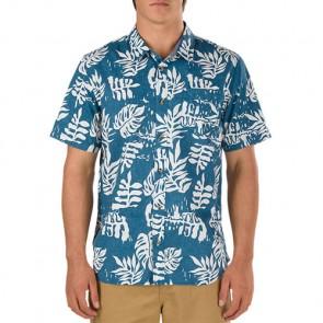 Vans JT Solana Short Sleeve Shirt - Blue Ashes