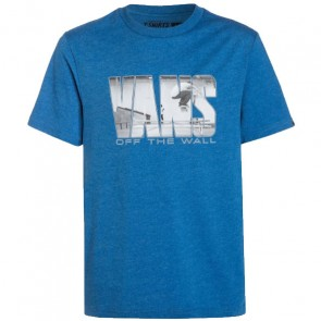 Vans Youth Push Through T-Shirt - Royal Heather