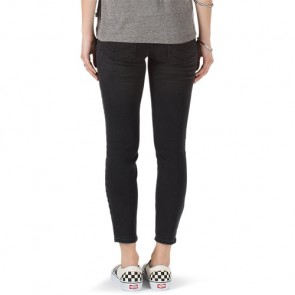Vans Women's Destructed Skinny Jeans - Smoke