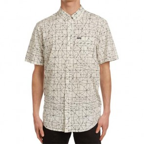 Volcom Invert Geo Short Sleeve Shirt - Cloud