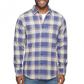 Volcom Caden Long Sleeve Flannel - Clay