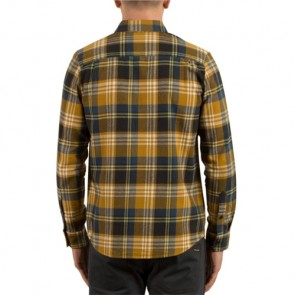 Volcom Caden Long Sleeve Flannel - Caramel