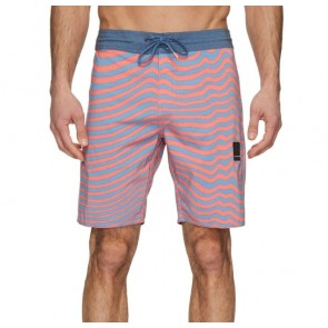 Volcom Mag Vibes Stoney Boardshorts - Scream Red
