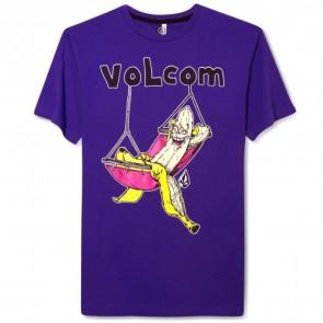 Volcom Hang Out T-Shirt - Purple Flash