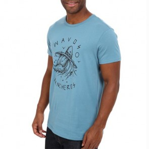 Volcom Browne Towne T-Shirt - Stormy Blue