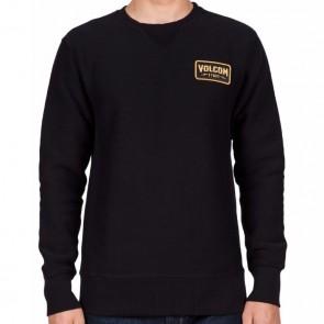 Volcom Shop Crew Sweatshirt - Black