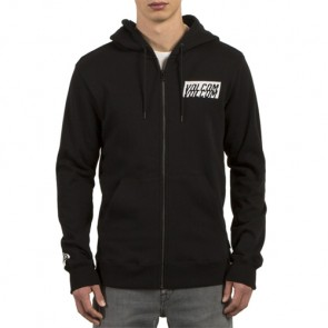 Volcom Supply Stone Zip-Up Hoodie - Black