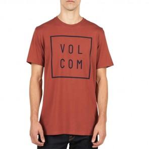 Volcom Flagg T-Shirt - Dark Clay