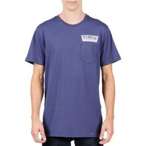 Volcom Truckin Pocket T-Shirt - Blue Plum
