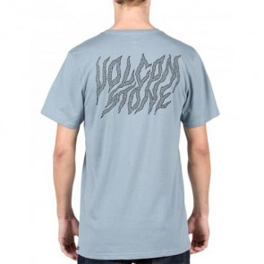 Volcom Creeper Pocket T-Shirt - Ash Blue