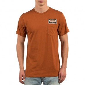 Volcom Shop Pocket T-Shirt - Copper