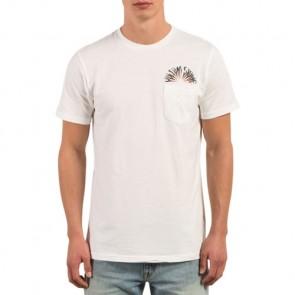 Volcom Doom Bloom Pocket T-Shirt - White