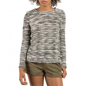 Volcom Women's TipTippy Crewneck Sweater - Black