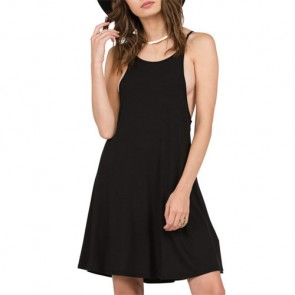 Volcom Women's Lived In Tank Dress - Black
