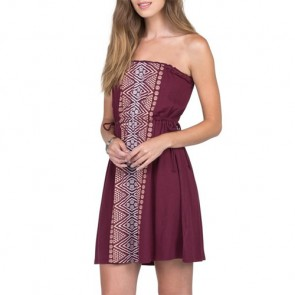 Volcom Women's Avalaunch It 2 Dress - Merlot