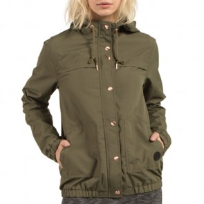 Volcom Women's Enemy Stone Jacket - Dark Camo