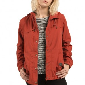 Volcom Women's Enemy Stone Jacket - Rust