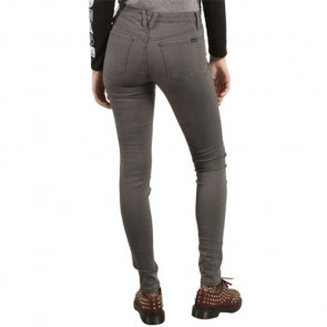 Volcom Women's Liberator Denim Leggings - Storm Cloud