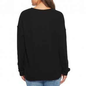 Volcom Women's Lil Crew Sweatshirt - Black