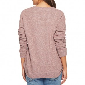 Volcom Women's Lil Crew Sweatshirt - Purple Haze