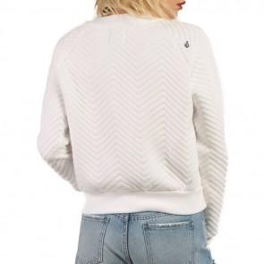 Volcom Women's Cozy Dayz Sweatshirt - White