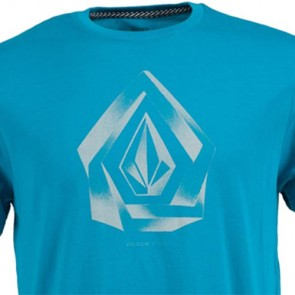 Volcom Youth Overlap T-Shirt - Atlantic