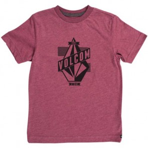 Volcom Youth Wrapped T-Shirt - Merlot