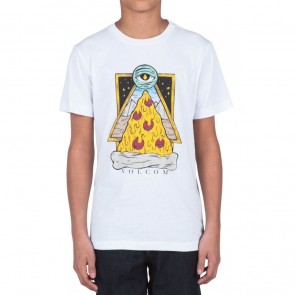 Volcom Youth Slice T-Shirt - White