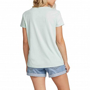 Volcom Women's Easy Babe Rad T-Shirt - Mint