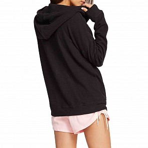 Volcom Women's Lil Zip Hoody - Black