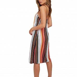 Volcom Women's Shell Shocked Dress - Dark Clay