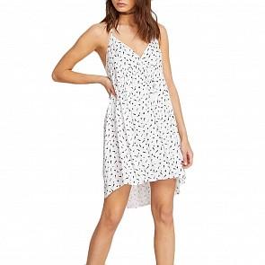 Volcom Women's Vol Dot Com Dress - White