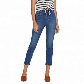 Volcom Women's Vol Stone Jeans - Marina Blue