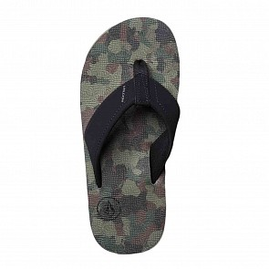 Volcom Youth Victor Sandals - Camo