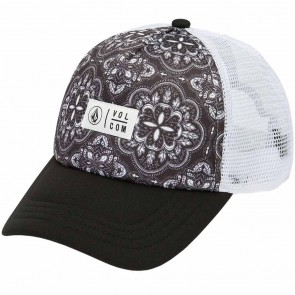 Volcom Women's Stone Cult Trucker Hat - Black