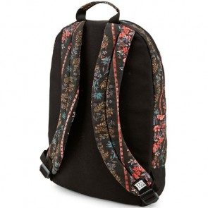 Volcom Women's Schoolyard Canvas Backpack - Black Print
