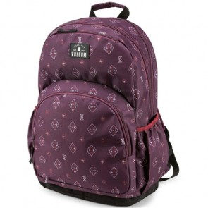 Volcom Women's Fieldtrip Poly Backpack - Plum