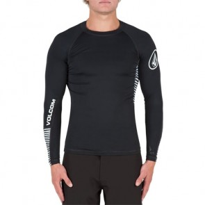 Volcom Vibes Long Sleeve Rash Guard - Black