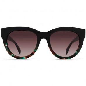 Von Zipper Women's Queenie Sunglasses - Rose Tortoise Cloud/Vintage Grey