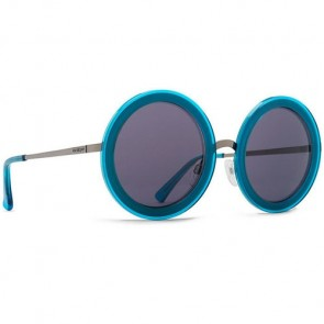 Von Zipper Women's Fling Sunglasses - Blue Charcoal/Grey