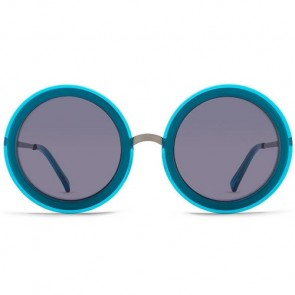 Von Zipper Women's Fling Sunglasses - Blue Charcoal/Grey