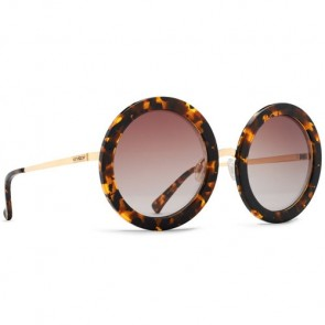 Von Zipper Women's Fling Sunglasses - Tortoise Gold/Brown Gradient