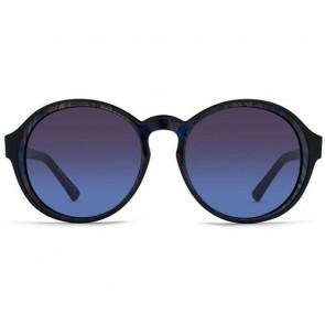 Von Zipper Women's Lula Sunglasses - Black Swirl/Brown Blue Gradient