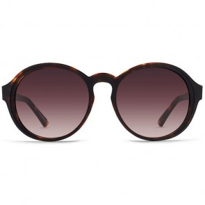 Von Zipper Women's Lula Sunglasses - Tortoise Black Satin/Brown Gradient